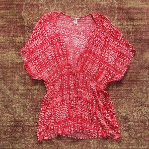 Victoria's Secret heart short robe top